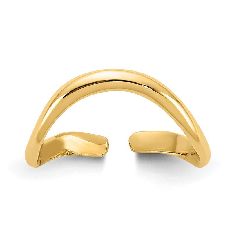 Quality Gold 14k Polished Toe Ring