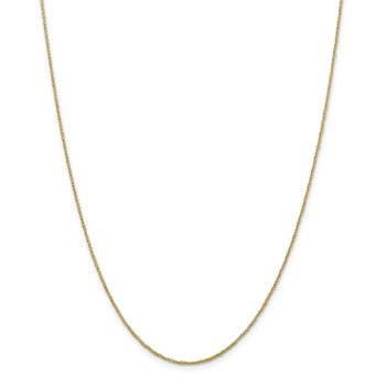 14K 1.1mm Ropa Chain