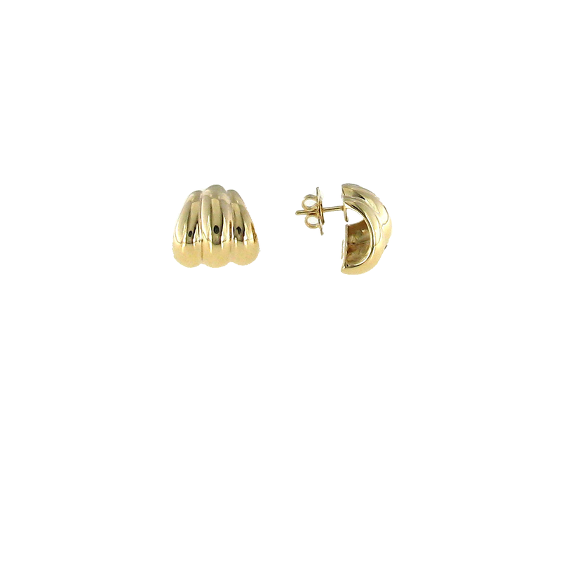 Roberto Coin 18Kt Yellow Gold Small Shrimp Earring
