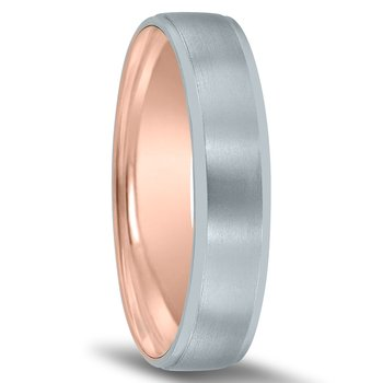 Men's Unique Inside Out Wedding Band - XNT17039