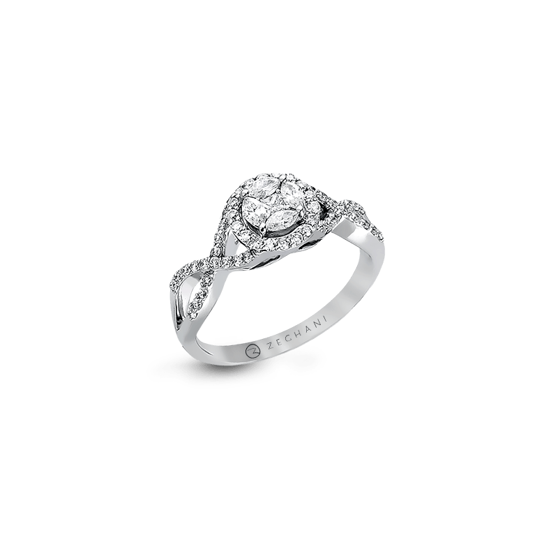 Zeghani ZR802 ENGAGEMENT RING