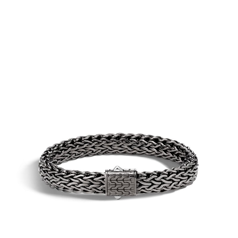JOHN HARDY Classic Chain 11MM Bracelet in Blackened Silver