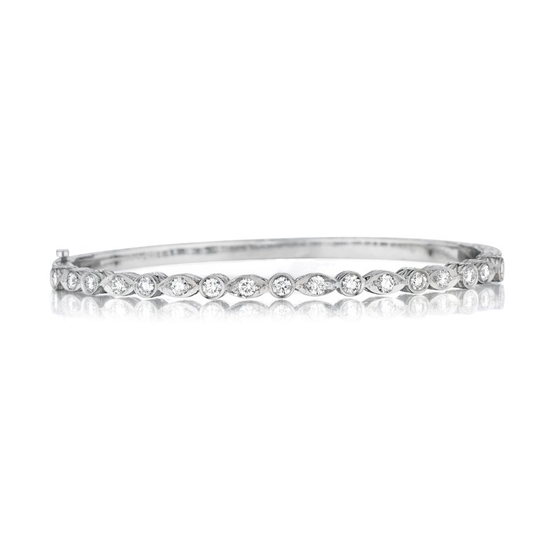 Penny Preville Marquise & Round Bangle