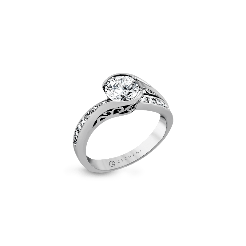 Zeghani ZR1049 ENGAGEMENT RING