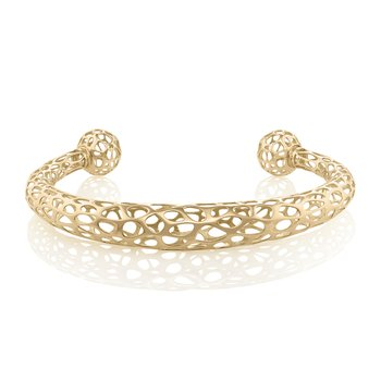 Ellipsoid Bracelet 18k Gold