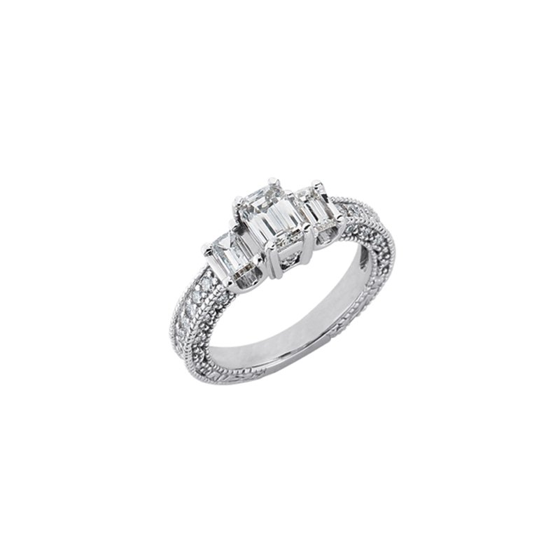 Briana Three Stone Ring