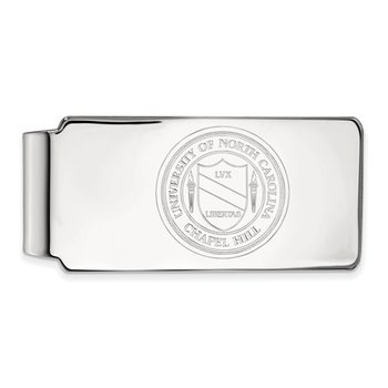 Sterling Silver University of North Carolina NCAA Money Clip