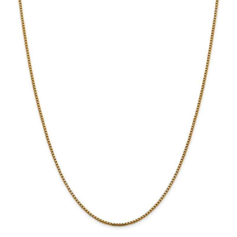Leslie's 14K 1.85 mm D/C Round Box Chain