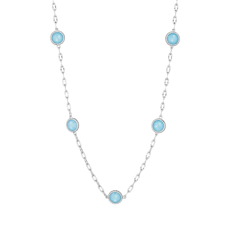 Tacori Fashion Raindrops Necklace featuring Neo-Turquoise