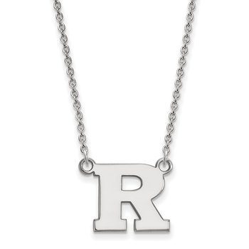 Gold Rutgers University NCAA Necklace
