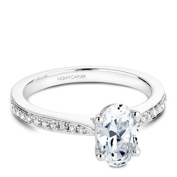 Noam Carver Fancy Engagement Ring B018-03A