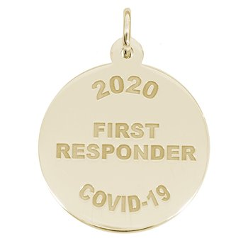 Covid-19 First Responder Charm