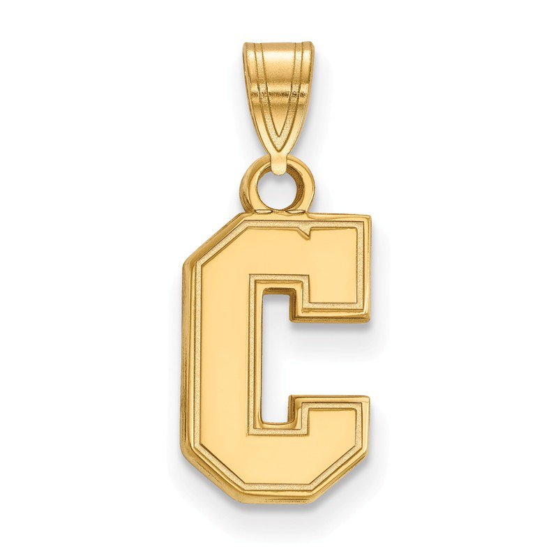 NCAA Gold College of Charleston NCAA Pendant