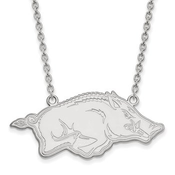 Gold University of Arkansas NCAA Necklace