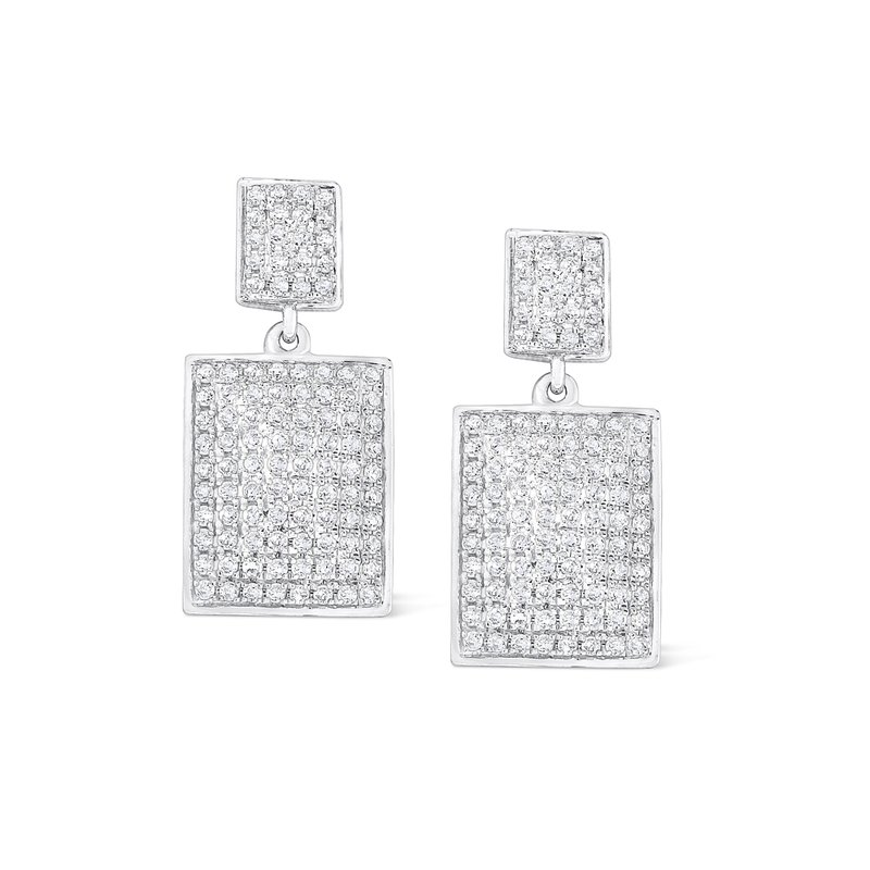 KC Designs 14K Gold and Diamond Geometric Earrings
