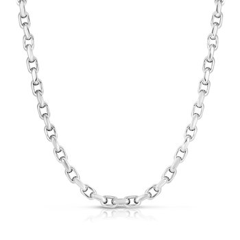 Silver Oval Links Chain