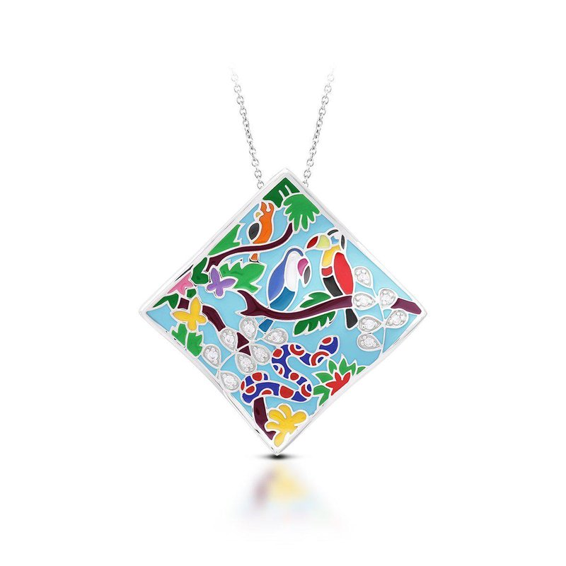 Belle Etoile Tropical Rainforest Pendant