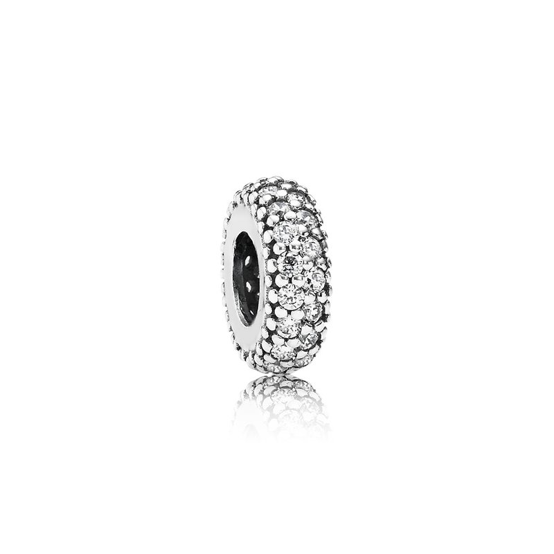 Pandora Inspiration Within Spacer, Clear Cz