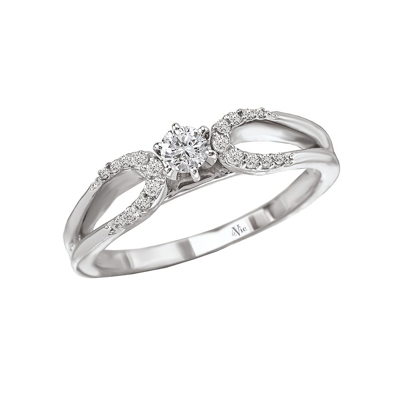 LaVie Split Shank  Diamond Ring