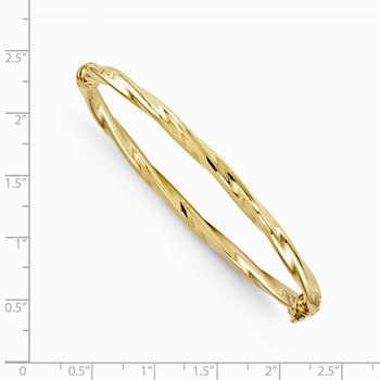 Leslie's 10K Yellow Gold Bangle