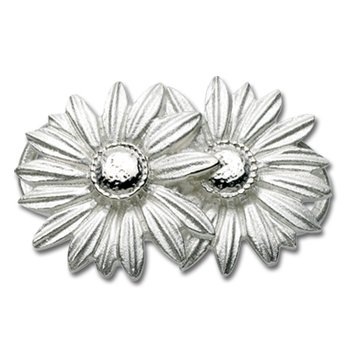 Sterling Silver Daisy Clasp