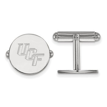 Sterling Silver University of Central Florida NCAA Cuff Links