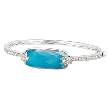 St. Barths Blue Turquoise Bangle