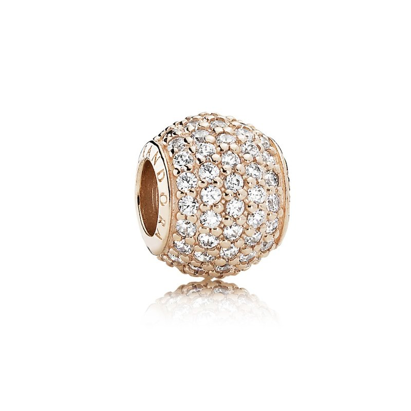 PANDORA Pavé Lights, Pandora Rose™ Clear Cz