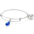 Alex and Ani Swarovski Teardrop Color Code EWB, Sep, Sapphire Color