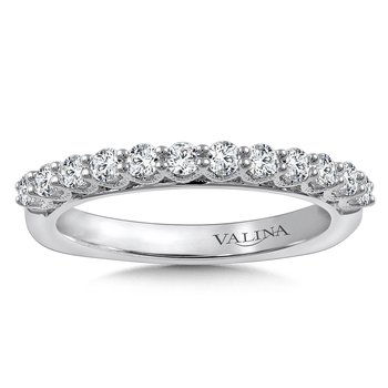 Stackable Wedding Band in 14K White Gold (.47 ct. tw.)
