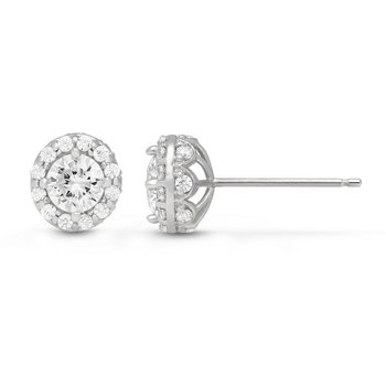 The Seraphina Halo Earrings
