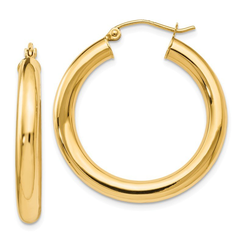 Leslie's Leslie's 14K Polished Lightweight Hoop Earrings