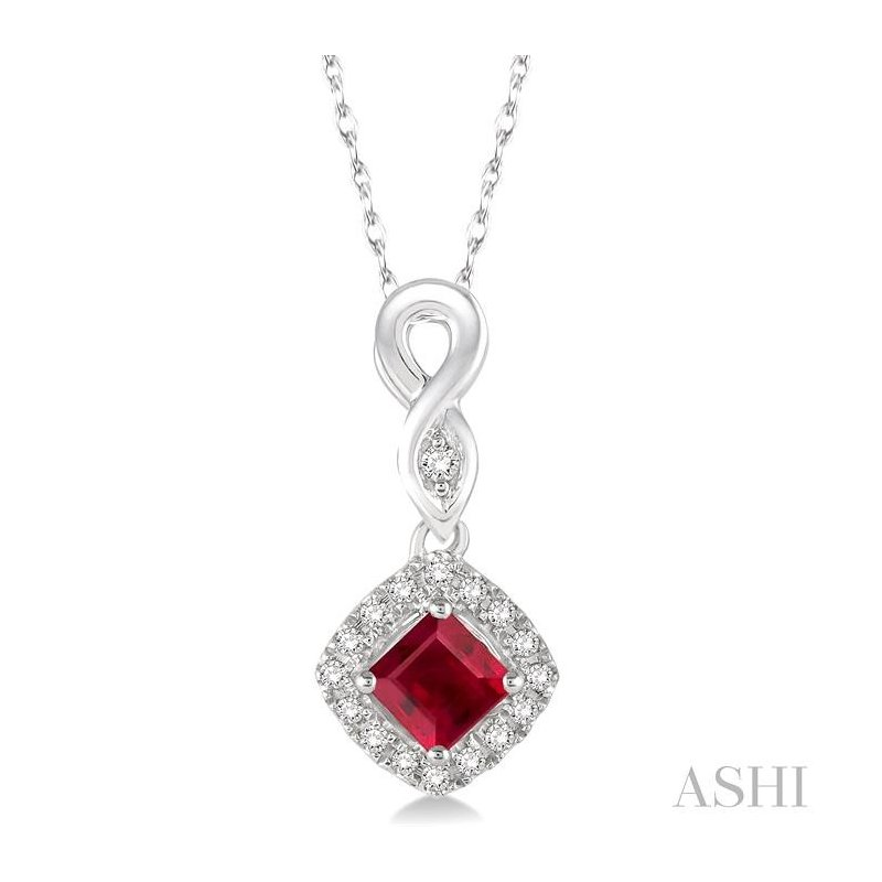 Barclay's Signature Collection gemstone & diamond pendant