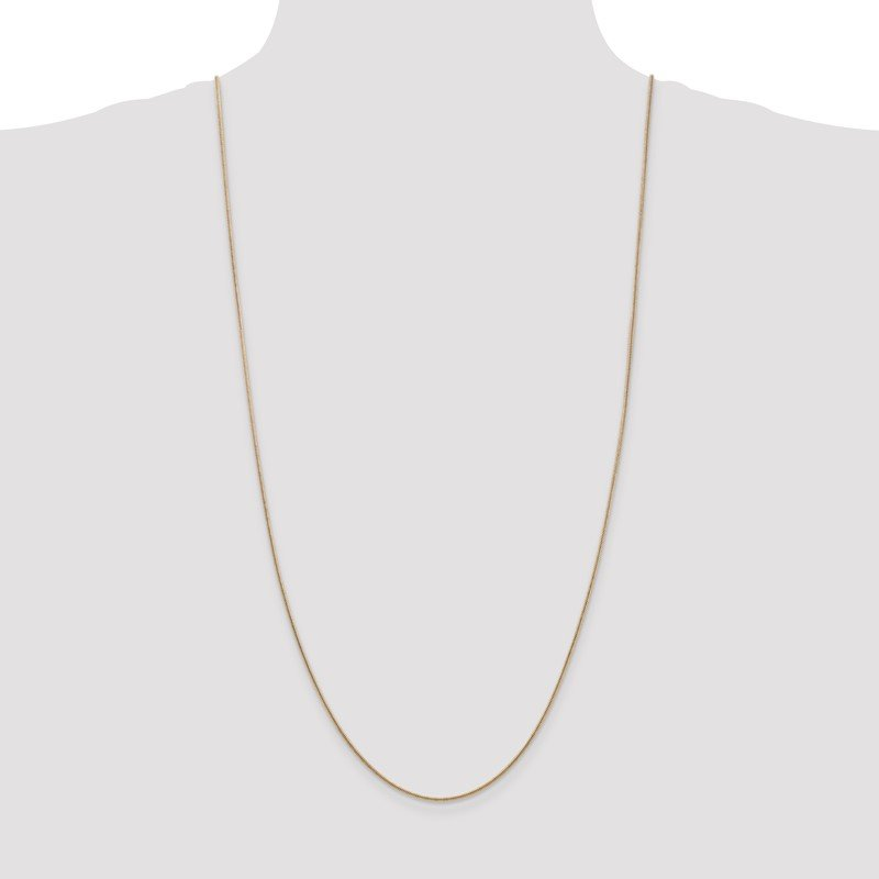 Quality Gold 14k 1.4mm Round Snake Chain