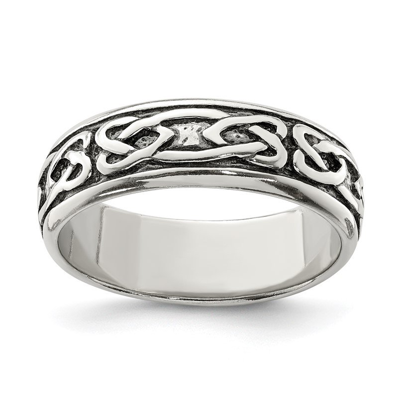 Fine Jewelry by JBD Sterling Silver Design Ring