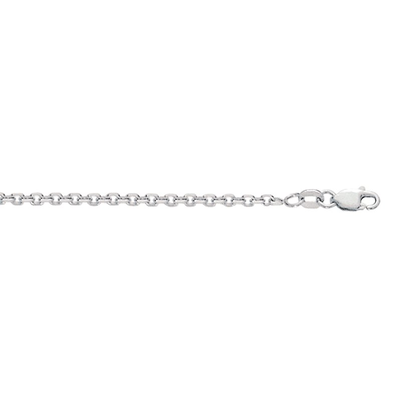 Royal Chain Silver 2.75mm Diamond Cut Cable Chain