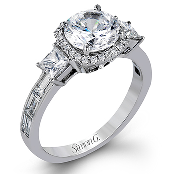 TR597 ENGAGEMENT RING