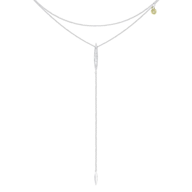 Tacori Fashion Double Chain Surfboard Lariat