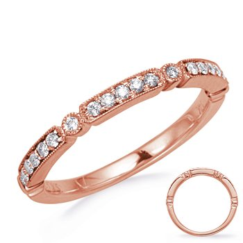Rose Gold Stackable Band
