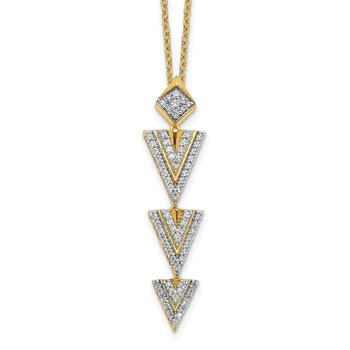 14k Diamond 18 inch Necklace