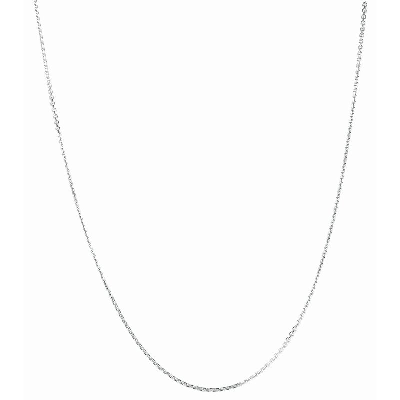 Royal Chain Silver 1.4mm Diamond Cut Cable Chain