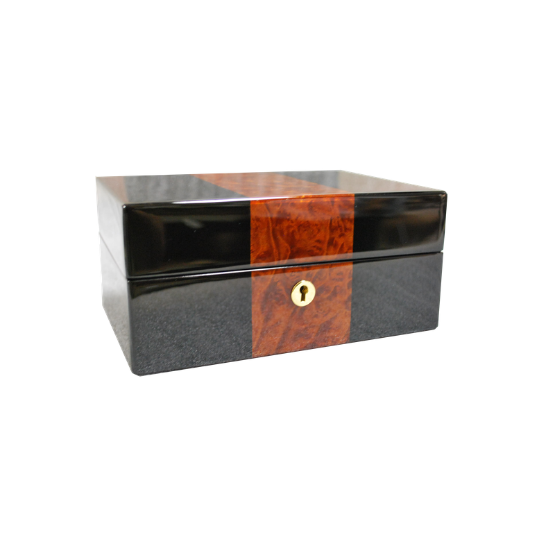 Orbita  Watch Winders ZURIGO 3 BLACK AND BURL