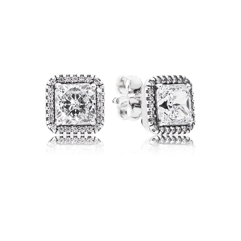 209a096ea3178 Michael Eller Diamonds: PANDORA Timeless Elegance Stud Earrings ...