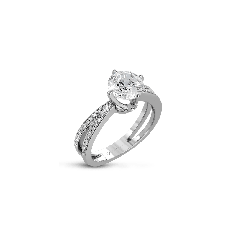 Zeghani ZR1244 ENGAGEMENT RING