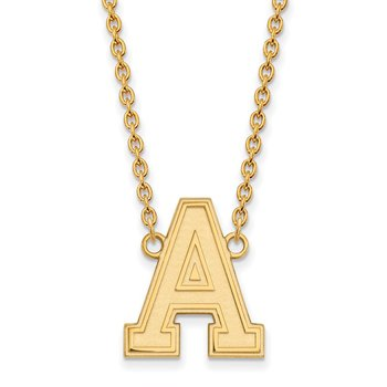 Gold U.S. Military Academy NCAA Necklace