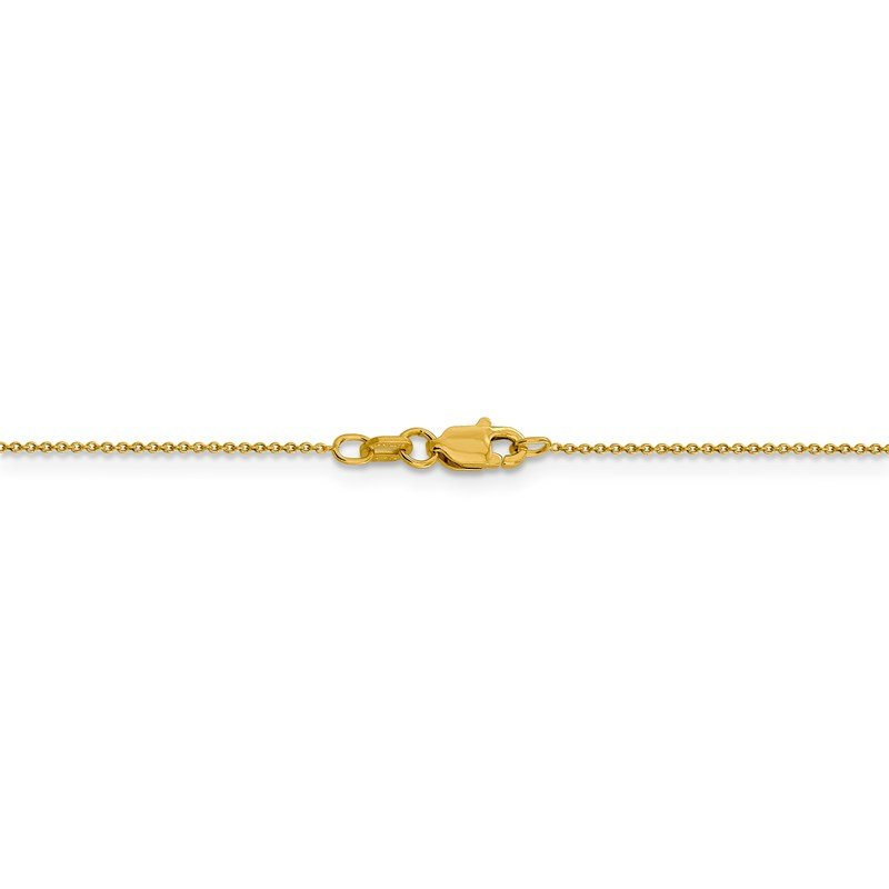 Leslie's Leslie's 14K .8 mm Round Cable Chain