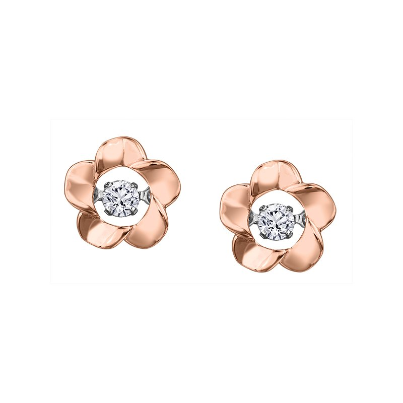 I Am Canadian Northern DancerDiamond Stud Earrings