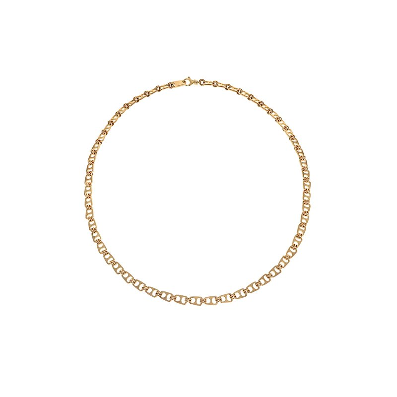 King Baby 18K Gold Pop Top Necklace
