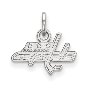Sterling Silver Washington Capitals NHL Pendant