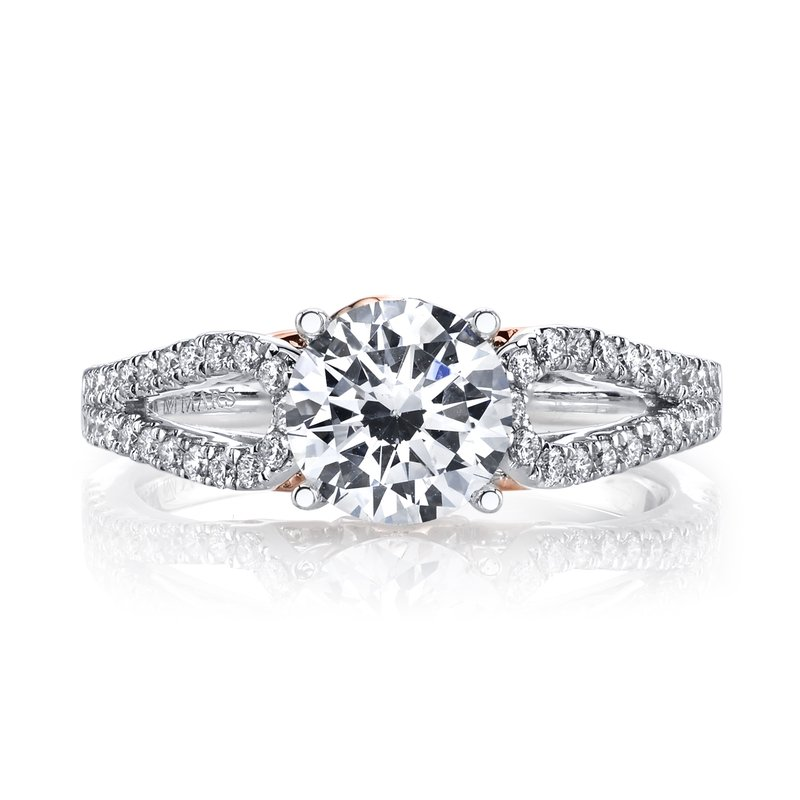 MARS Jewelry MARS 25993 Diamond Engagement Ring, 0.34 Ctw.